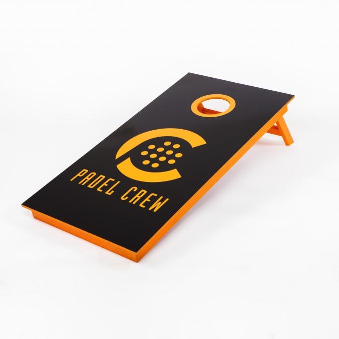 Cornhole bräda med design Padel Crew