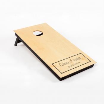 Premium Cornhole board black