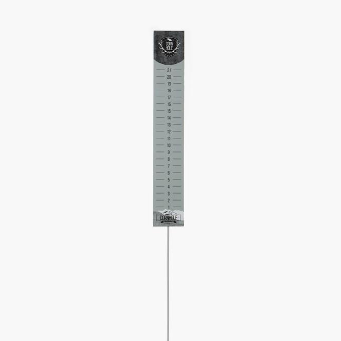 Cornhole poängtavlor grå neutraldesign